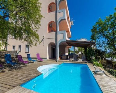 Photo for Holiday apartment with air conditioning and outdoor pool