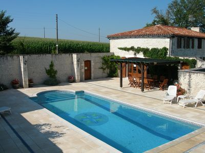 Photo for Superbly Converted Farmhouse with Private Pool