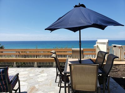 Photo for Neptune Oceanfront, surf, golf, beaches! Gorgeous home, Sunset and patio Views!