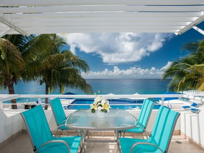 Photo for Miramar #202 ,Stunning Oceanfront condo 2 miles north of town, Great Snorkeling!