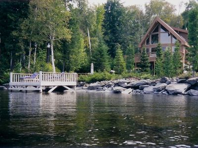 Photo for Moosehead Hideaway (Custom-Built, Waterfront, On Moosehead Lake)