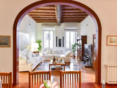 Photo for Elegant flat next to Spanish Steps