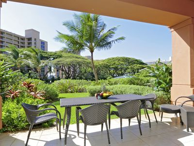 Photo for Honua Kai beachfront resort.  Ground Floor 1-bed, steps to pools and beach.
