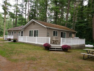 Photo for Charming Cabin on Long Lake; Near Golf Course, Ski & Atv Trails