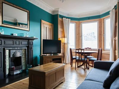 Photo for 2 Bedroom Flat With Free Parking Nearby Accommodates 6