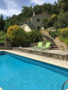 Photo for Luxury Let For Couples With Private Pool In A Tranquil Location 1 hr from coast.