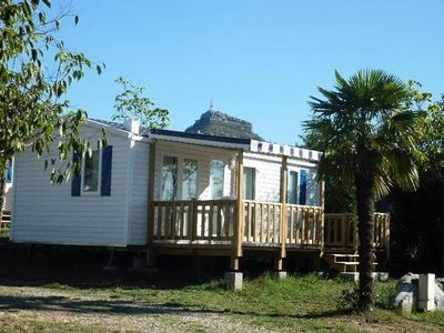 Photo for Camping la Chapoulière **** - Mobile home 3 rooms 4 persons