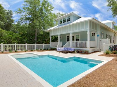 Photo for Brand New Luxury Home - Private Pool - Half Mile to Sandy Beach!