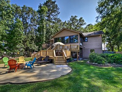 Photo for NEW! Waterfront Midway Home w/Sunroom & Large Yard