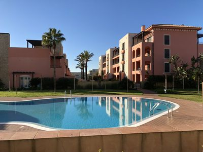 Photo for Luxury penthouse in Vilamoura, Victoria Boulevard, T2, TV, Free Wifi, 2 pools
