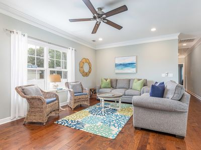 Photo for North Tybee home, Perfect for families, Custom Kitchen, Open Living Plan with Outdoor Entertainment