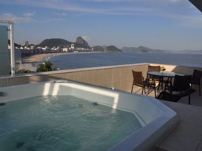 best view to copacabana and sugarloaf mountain