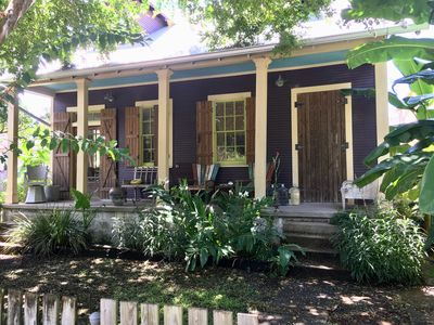 Photo for The Banana Manor 1 Block off of Charming & Lively Oak Street