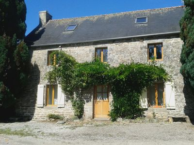 Photo for Pretty Stone cottage in the heart of the French countryside.