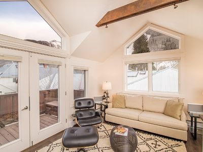 Photo for Beautiful 3 Story, 3 Bed Townhouse in Downtown Telluride, Sleeps 6