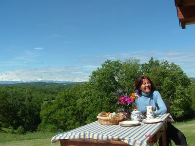 Paradise in the Pyrenees ! A contented guest!