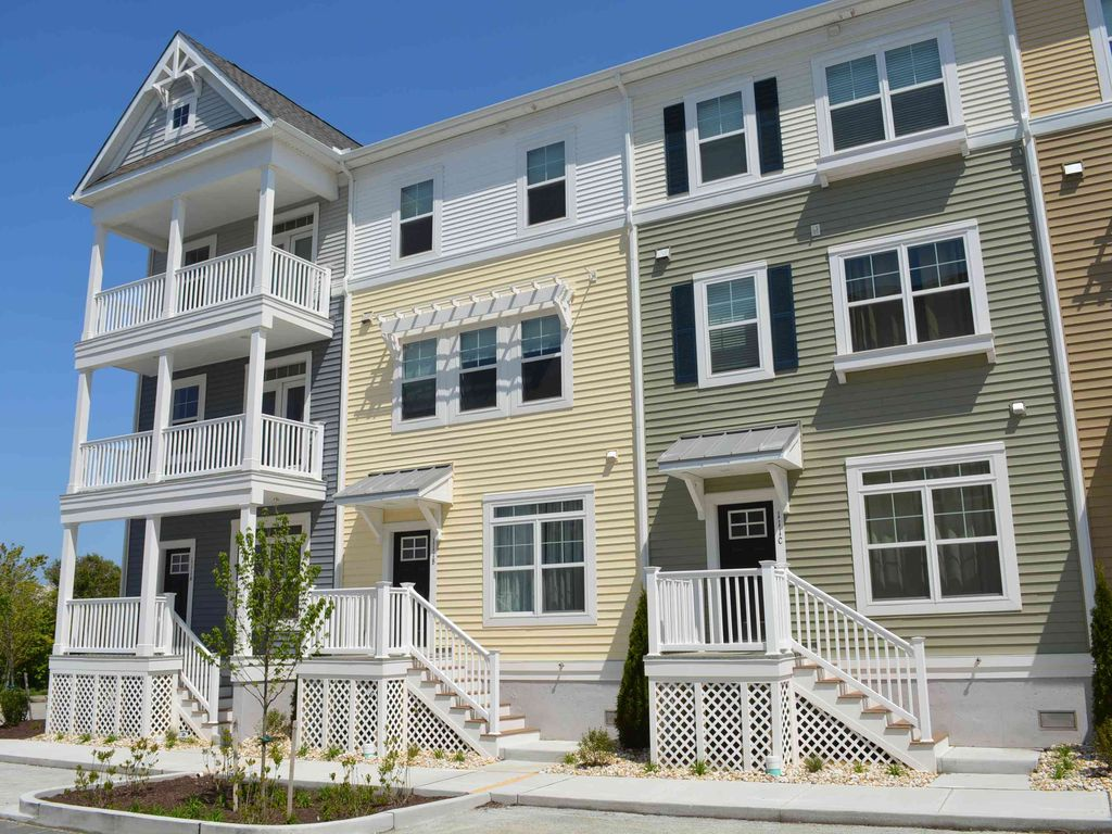 Residenza cittadina per 10 persone in ocean city 4065872 for Tre bay garage