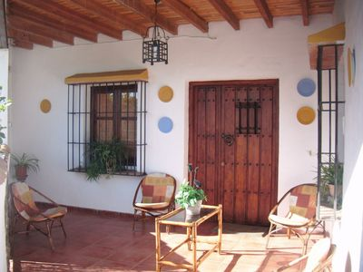 Photo for Rustic Home In Tranquil Mountains with Pool, Terrace, Balcony & Wi-Fi; Parking Available, Pets Allowed