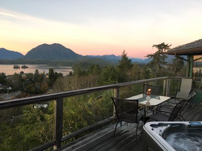 Photo for Eagle View House stunning views of Meares Island