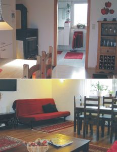 Photo for Newly renovated half-timbered house with 2 apartments in the Palatinate Forest / German Wine Road