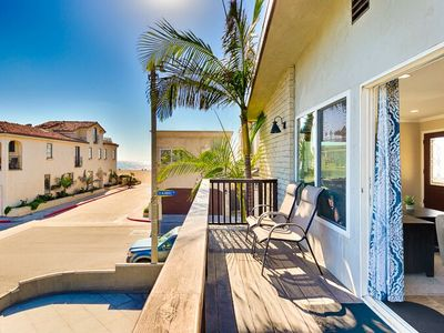 Photo for 1 House from Sand w/ Views, Private Deck, Spacious+Walk to All