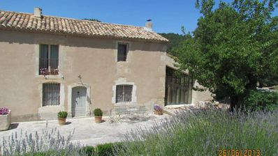 Photo for Authentic Provencal farmhouse in hillside with private pool