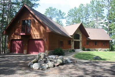 Your beautiful lake home on a secluded two acres with 657 ft of lake frontage