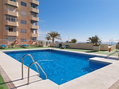 Photo for Modern apartment in Estepona port with WIFI & A/C, Estepona port near restaurants, bars and beaches