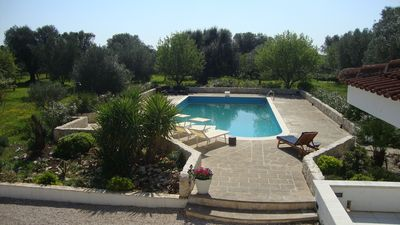 Set in nearly a hectare of olive, fig, lemon and other Mediterranean plants