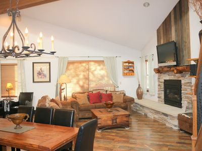 Photo for True SKI-IN/SKI OUT location close to town!  Pool & hottubs.