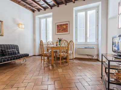 Photo for Charming apartment in Campo dei Fiori