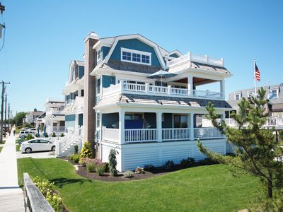 Photo for OCEANFRONT IN AVALON! COME ENJOY THIS 6BR, 7-1/2BA PROPERTY WITH POOL AND SPA!