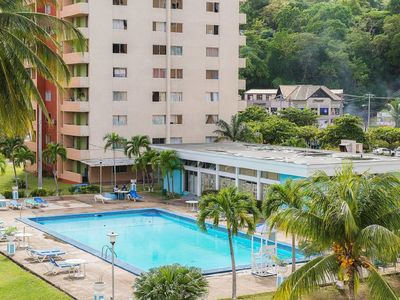 Photo for 1br Apartment - WiFi/Beach/Pool/Security/Cable