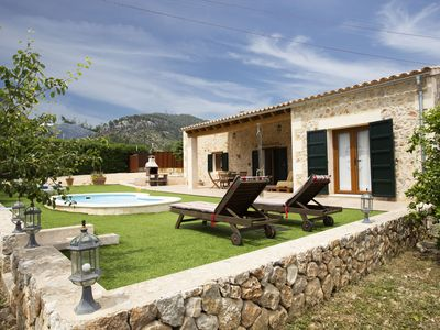 Photo for Cozy holiday cottage with 2 bedrooms, private pool and wifi