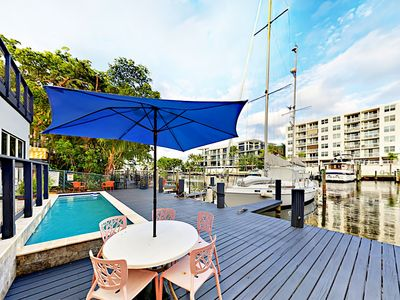 Photo for Waterfront Wonder - Pool, Grill & Alfresco Dining, Near Beaches!