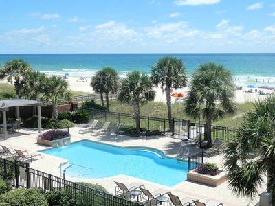 Photo for Beachfront with Pool