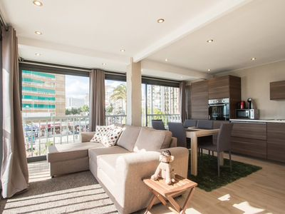 Photo for LUXURIOUS APARTMENT 2D FIRST LINE BEACH LEVANTE