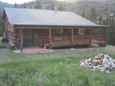 Photo for Log Cabin on Rio Grande River 4BR-2BA