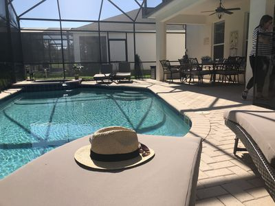 Photo for South Facing Pool W/Free Pool Heat-5 Min To Disney, Themed Bed Rms, BBQ