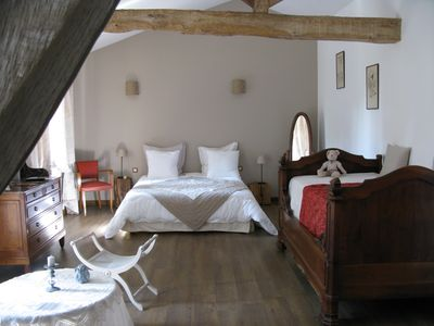 Photo for Charming suite in the Tarn, the Attic