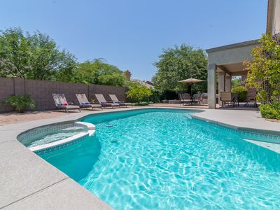Photo for RARE 5 Bedroom w/ Pool & Spa In Sought After Kierland Scottsdale!