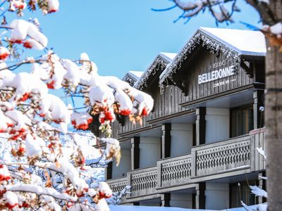 Photo for A good plan in Courchevel, a comfortable residence for a cozy price