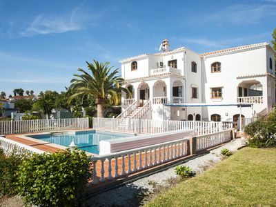 Photo for Spacious  Family secluded Villa - Near Nerja. Sea and mountain views. Large pool