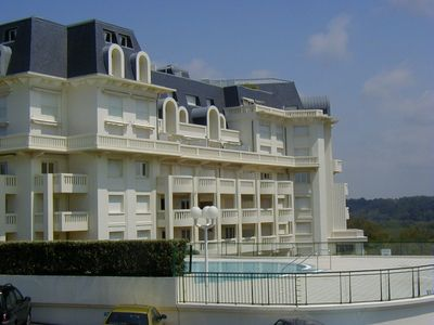 Photo for PALACE of ROSERAIE on Sea and Golf in Ilbarritz with Heated Pool in summer
