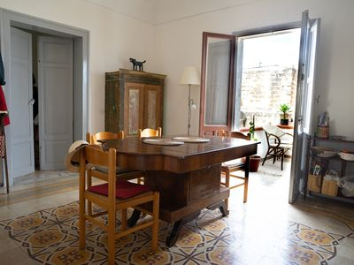 Photo for Large apartment in the historical center of Favignana (Egadian Islands, Sicily)