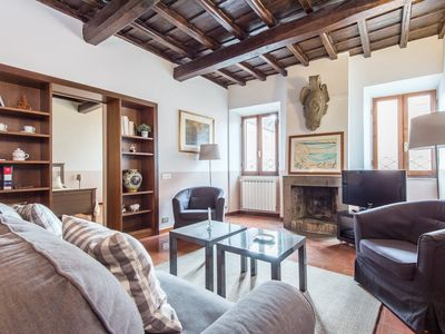 Photo for Apartment 134 m from the center of Rome with Internet, Lift, Terrace, Washing machine (313171)