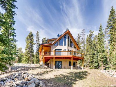 Photo for NEW HOT TUB -Pet Friendly/Mountain Views/ Gorgeous Vacation Home near Fairplay/Breck