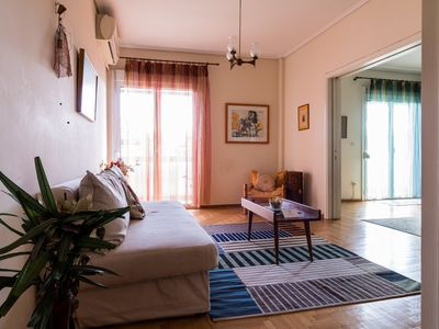 Photo for Cozy 2 Bedroom Apartment in the Centre of Athens