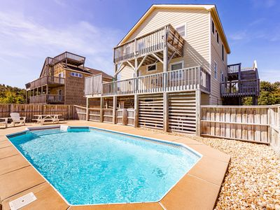 Photo for D3742 Duck Duck Goose. Pool/Hot Tub, Linens, WiFi, Ocean View, Close to Beach