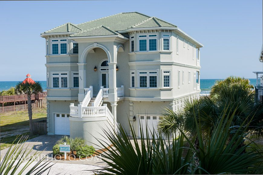 Luxury Oceanfront Pool Wedding Friendly Ocean Isle Beach